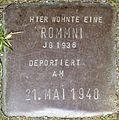 Stolpersteine Köln, Rommni, Stein-Nr. 99 (Holzmarkt 1).jpg