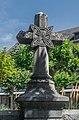 Stone cross near the church of the Sacred Heart in Rodez.jpg