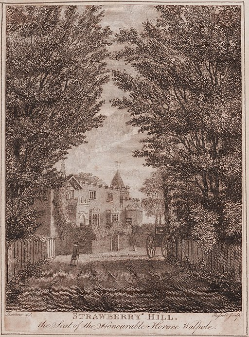 Strawberry Hill Engraving