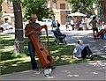 Street Music, Plaza, Santa Fe, NM 7-29-13h (11388366735).jpg