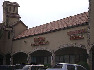 Mahatma Gandhi District, Houston - Image: Stripmall in the Mahatma Gandhi District of Houston 2