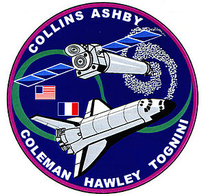 Jeffrey Ashby - Image: Sts 93 patch