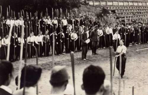 Student militia at Kujukurihama