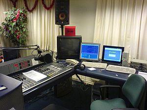 Nederlands: Studio van HTR Radio