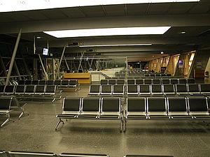 Stuttgart Airport - Departure area