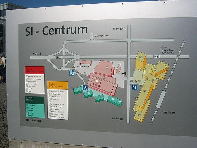 Si Centrum Stuttgart Hotel Ibis