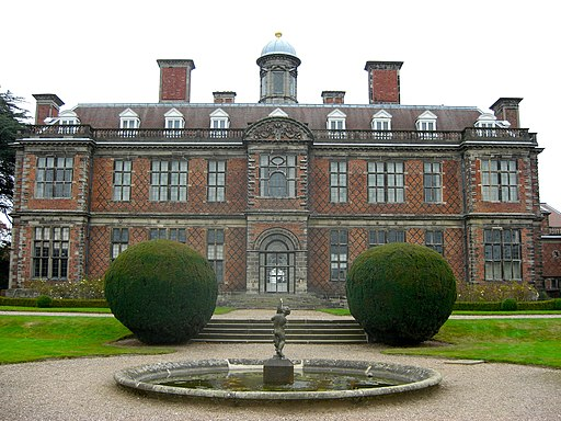 Sudbury Hall south front