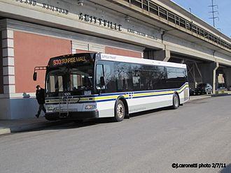 Suffolk County Transit - Image: Suffolk Transit Bus 1001