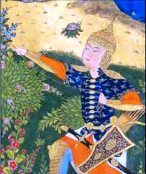 Sohrab - Sohrab in the Shahnameh of Shah Tahmasp
