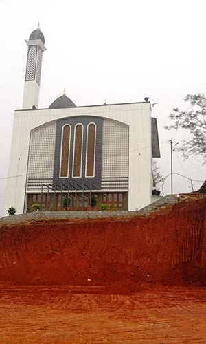 Mappila - Sunni masjidh at Mananthavady
