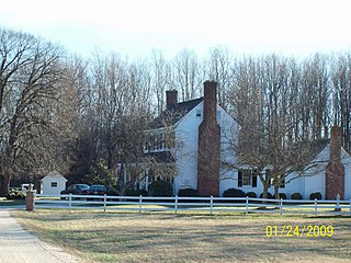 Sunnyside (Aquasco, Maryland) historic home in Aquasco, Maryland, United States