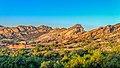 Sunrise at Vasquez Rocks Nature Area, Santa Clarita, CA (15953894056).jpg