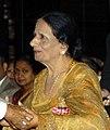Surinder Kaur, a Punjabi folk singer, receiving Padma Shri in 2006 (cropped).jpg