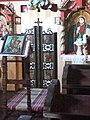 Svidník, skanzen, chrám svätej Paraskevy z Novej Polianky, carské vráta.jpg