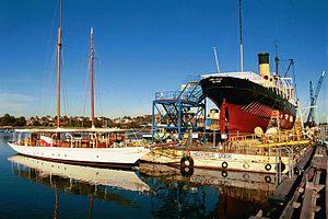 Rozelle Bay - Image: Sydney Heritage Fleet Heritage dock Rozelle