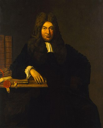 Ermysted's Grammar School - Sylvester Petyt who endowed the school with £30,000. Portrait from the National Portrait Gallery