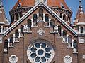 Szeged Kathedrale Unserer Lieben Frau Giebel 3.JPG