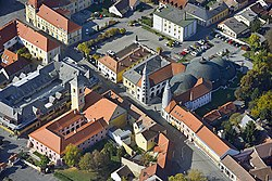 Aerial Photography: Szigetvár – Main Square