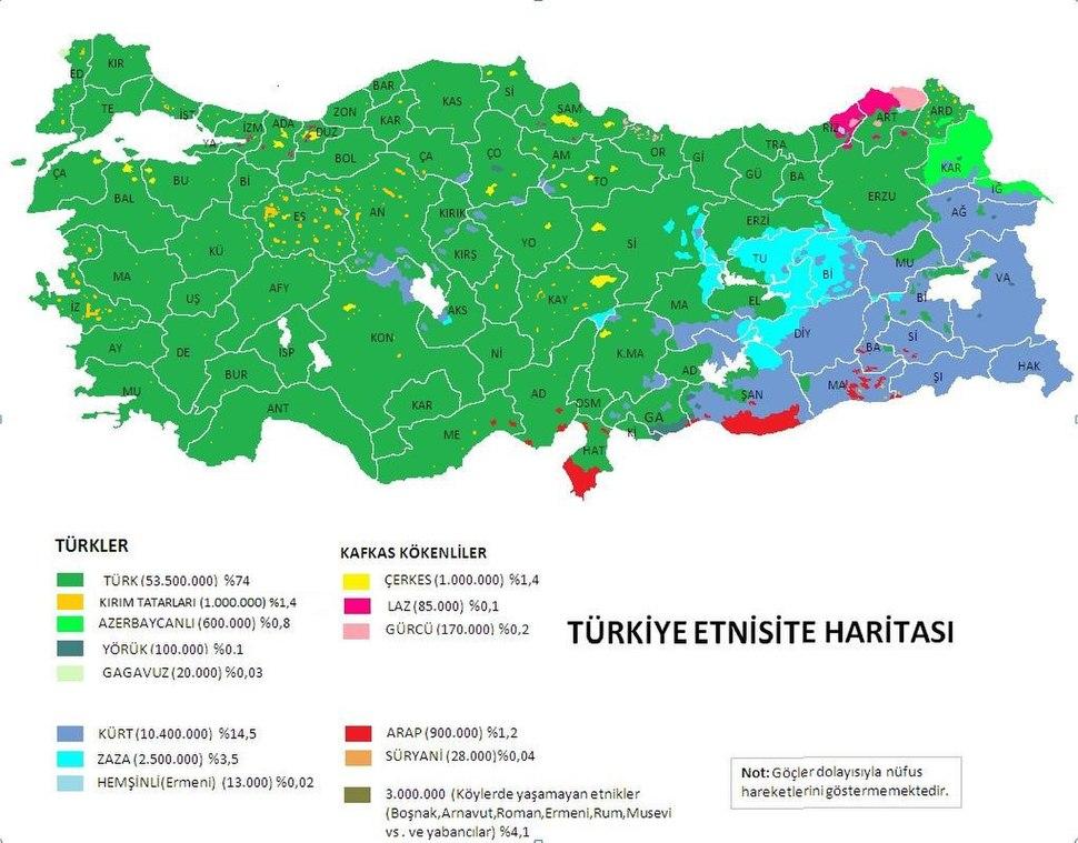 Türkiyeetnikharitası