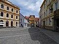 Třeboň, Masarykovo náměstí, směr Hradecká brána.jpg