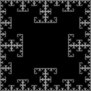 T-square (fractal) - T-square.