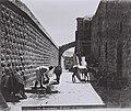 "THE SECOND STATION ON THE VIA DOLOROSA IN THE OLD CITY OF JERUSALEM. (COURTESY OF AMERICAN COLONY) ה""ויה דולורוזה"" בעיר העתיקה בירושלים.D826-114.jpg"