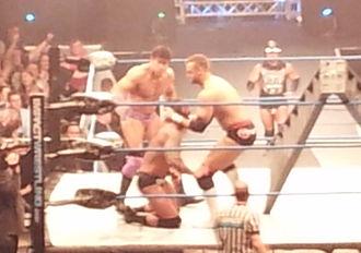 Magnus (wrestler) - Magnus and Ethan Carter III attacked Gunner