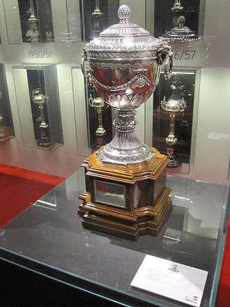 Latin Cup - Photo of the Latin Cup won by Benfica in 1950