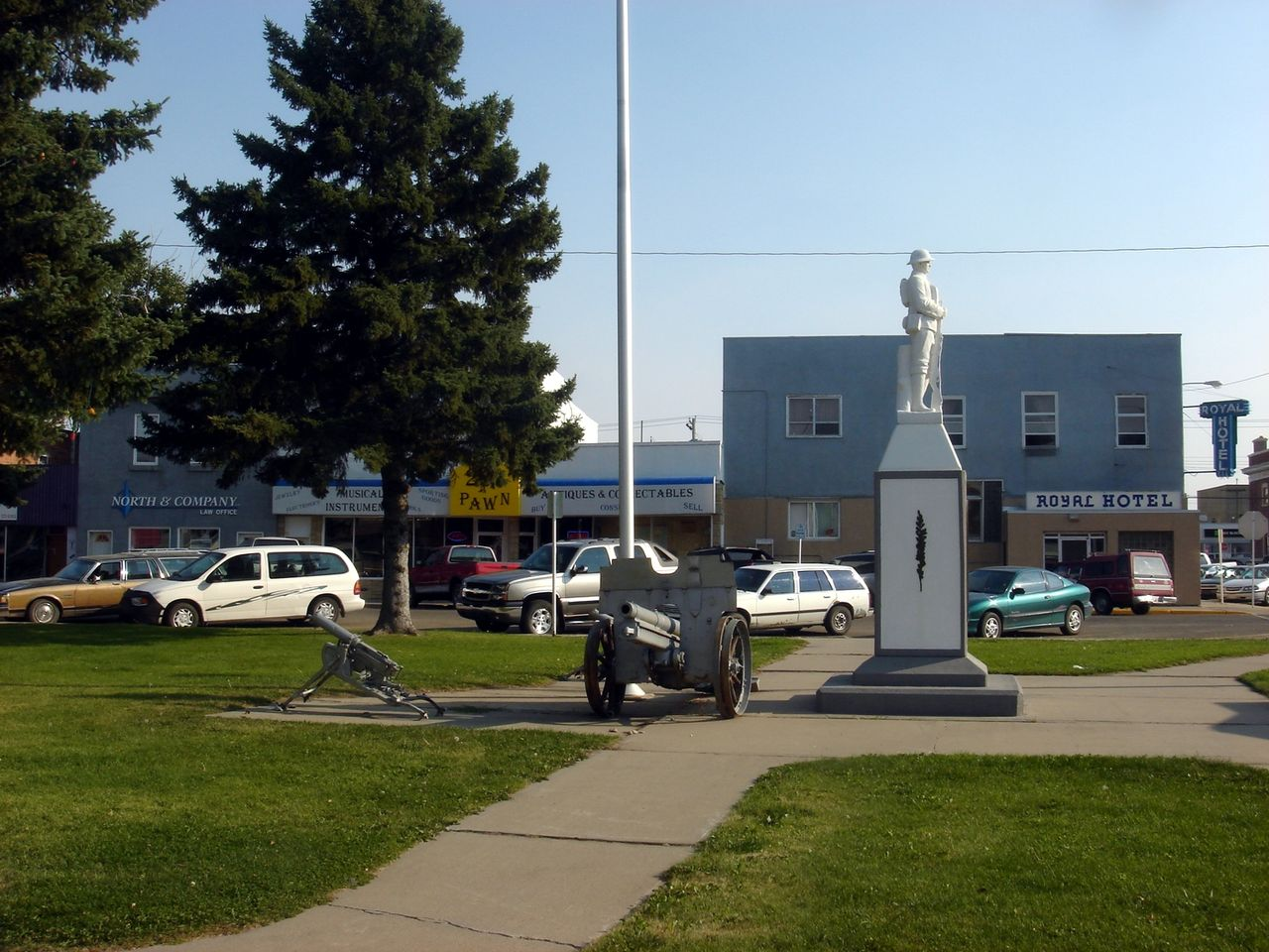 Taber town centre
