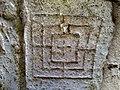 Tablero de juego medieval (Iglesia de San Esteban, Eusa, Navarra) - panoramio.jpg