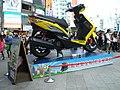 Taiwan Yamaha Cygnus-X in Ximending 20120714 2.jpg