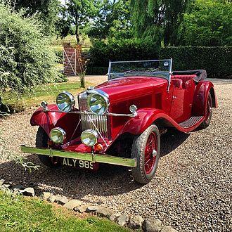 Clément-Talbot - 105 open tourer 1933