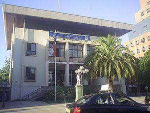 Talca - Municipal building of Talca