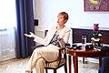 Tallinn Digital Summit press presentation by President Kersti Kaljulaid Digital innovation and Estonia's ambitions Kersti Kaljulaid (37112573780).jpg