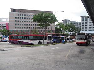 Tampines Bus Interchange - Image: Tampines Bus Interchange 3