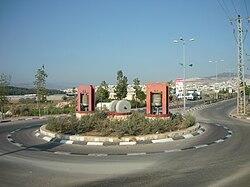כיכר בכניסה לטמרה