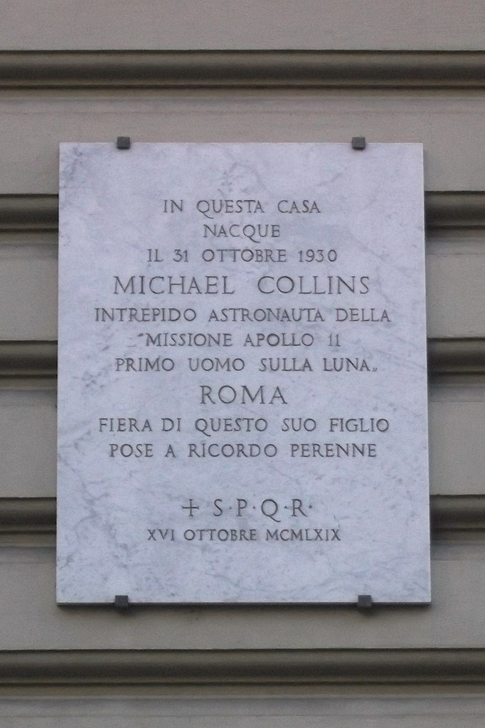 File:Targa ricordo Michael Collins.jpg - Wikimedia Commons