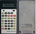 Taschenrechner Calculator MR609 1987.jpg