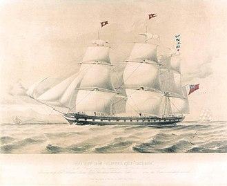 RMS Tayleur - Image: Tayleur