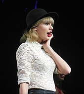 Taylor Swift at the Red Tour.