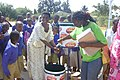 Teaching proper hand washing, Mbeya. (7589442826).jpg