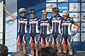 Team France 3 WK Valkenburg 2012.jpg
