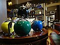 Teapots on Display in Empress Hotel Gift Shop - Victoria - BC - Canada (16664043299) (2).jpg