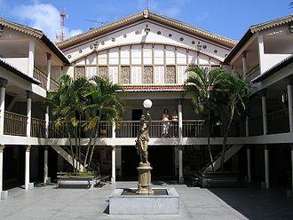 Alberto Maranhão Theatre - View inside the theater