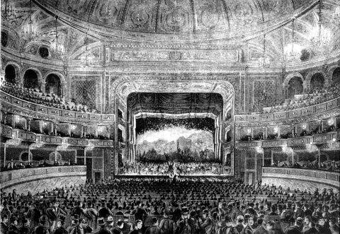 Teatro dal Verme Interior Circa 1875