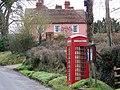 Telephone box, Edmondsham - geograph.org.uk - 1160843.jpg