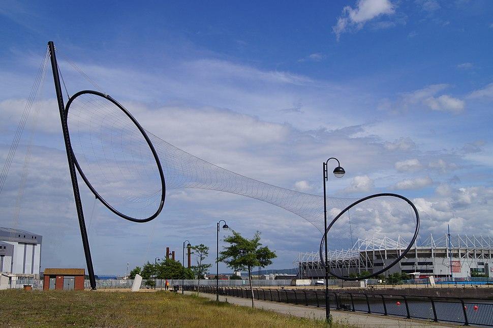 Temenos Sculpture, Middlesbrough