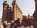 Tempio di Luxor, il portico di Amenofi III.jpg