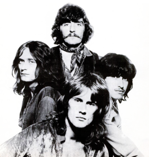 Ten Years After - Ten Years After in 1970   (Top, Leo Lyons, left, Chick Churchill, right, Ric Lee, front, Alvin Lee)