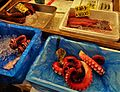 Tentacles of octopus at the Tsukiji fish market, Tokyo, Japan.jpg
